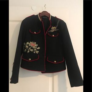 Military style jacket